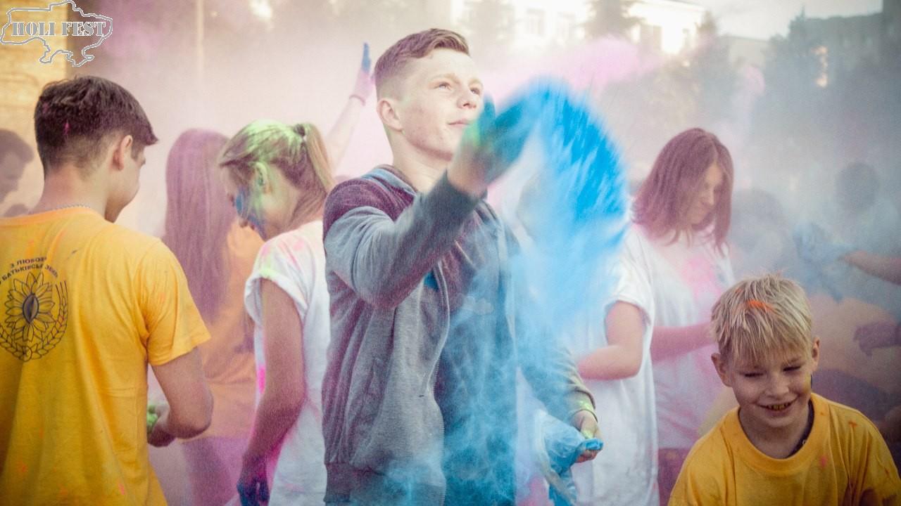 Фестиваль красок Холи в ВНАУ, Вінниця