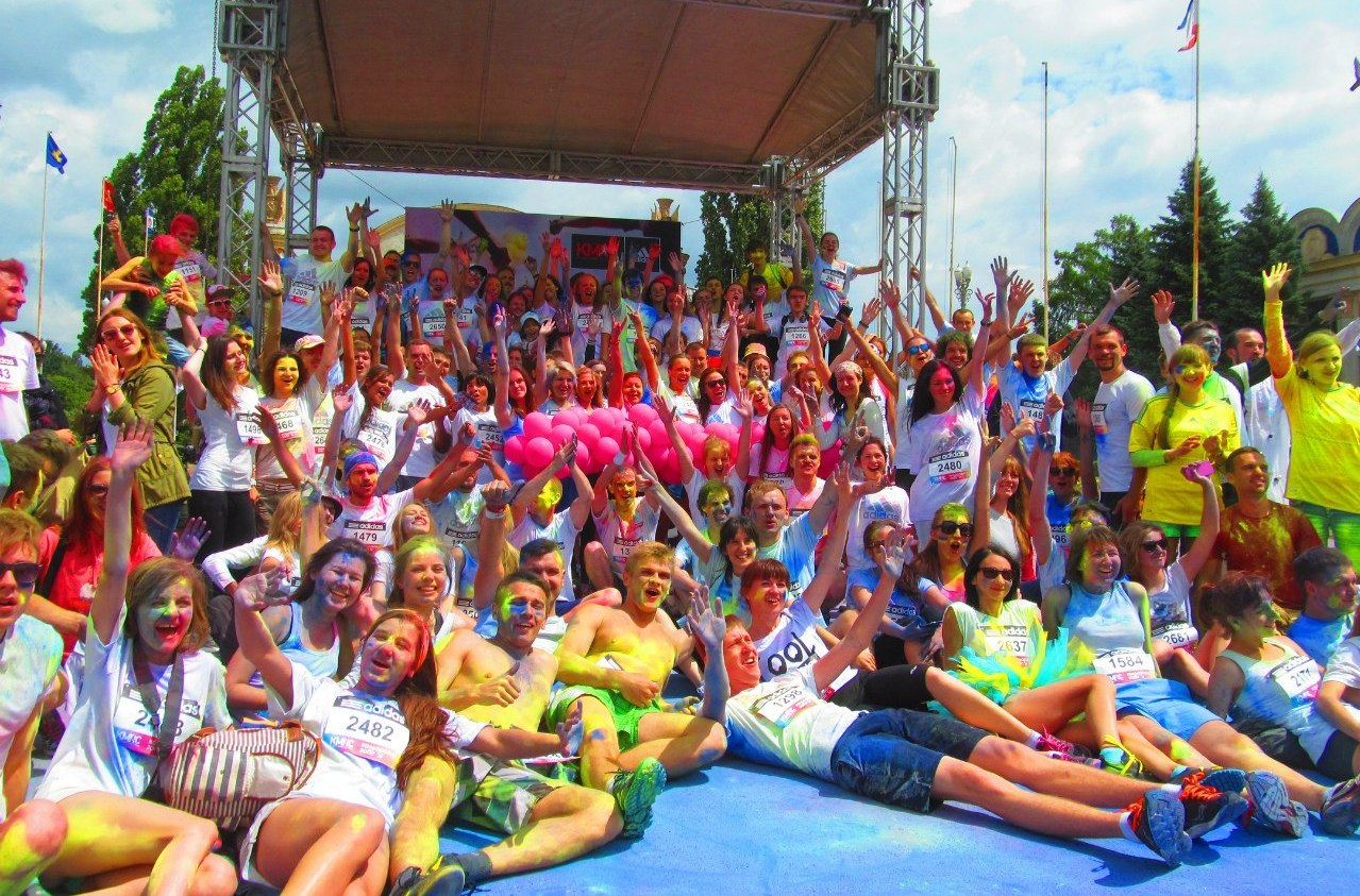 Color Run ADIDAS