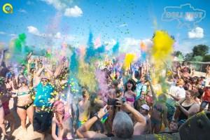 Сумы встретили Holi Fest взрывом ярких красок!