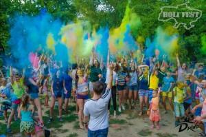Самый патриотичный Holi Fest прошел в Николаеве!
