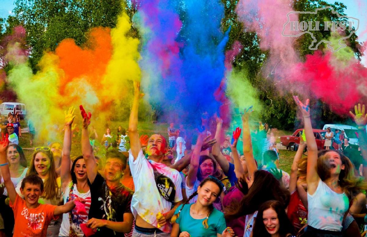 Holi Fest в городе Сарны! Закрытие сезона!