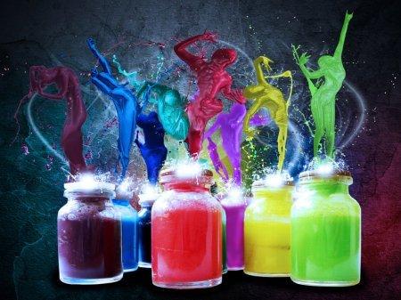 Красочный праздник красок Холи в городе Бендеры (Молдова)!