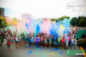 В Кременчуге прошел праздник красок «HoliDay Fest»!