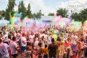 VEDALIFE окрасил Киев в яркие цвета востока с яркими Красками Холи!