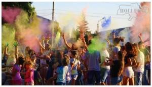 Holi фестиваль красок прошел в Дубровице!