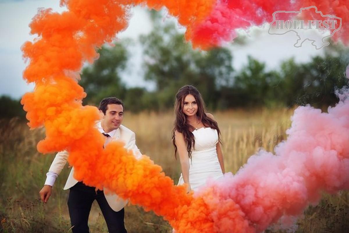 Невероятная, сказочная, неповторимая... фотосессия с цветным дымом!