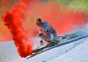 Спорт - это жизнь, это движение, это цветной дым!