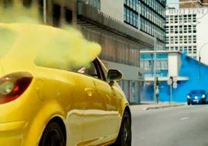 Ручной цветной дым в рекламных роликах!