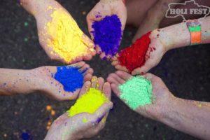 Майские праздники с красками Холи!