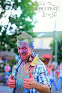 Проведи День родного города ярко с #Holi_Fest и зажги сердца всех горожан!