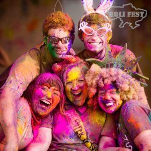 Устрой яркий Holi Fest в честь Дня Рождения!