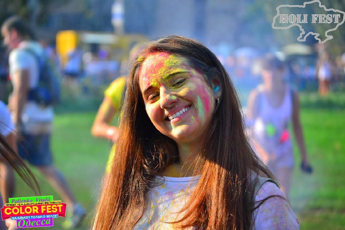 В Одессе прошел международный Фестиваль красок #Color_Fest!