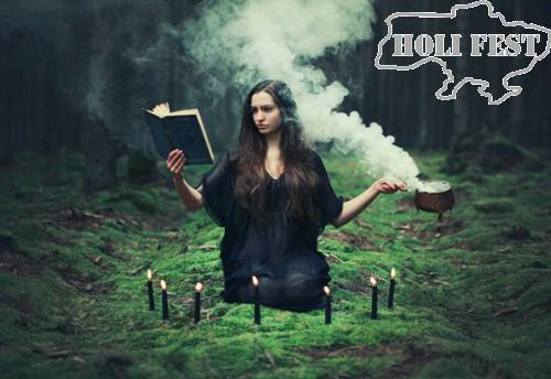 Празднуй Halloween мистически и феерично с цветным дымом!