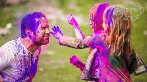 Безопасные краски Холи для детских праздников.